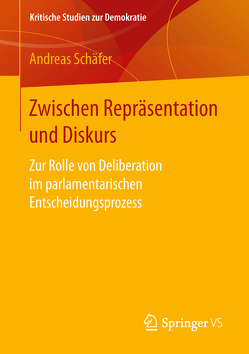 Zwischen Repräsentation und Diskurs von Schäfer,  Andreas