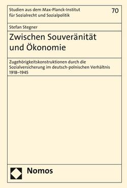 Zwischen Souveränität und Ökonomie von Stegner,  Stefan