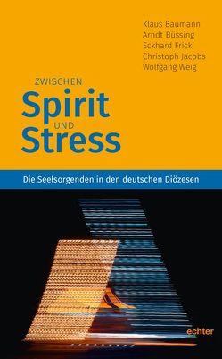 Zwischen Spirit und Stress von Baumann,  Klaus, Büssing,  Arndt, Frick,  Eckhard, Jacobs,  Christoph, Weig,  Wolfgang