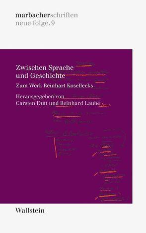 Zwischen Sprache und Geschichte von Dutt,  Carsten, Laube,  Reinhard
