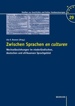 Zwischen Sprachen en culturen von Boonen,  Ute K., Fisseni,  Bernhard, Wesche,  Jörg