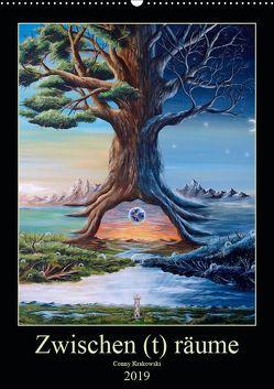 Zwischen (t) räume (Wandkalender 2019 DIN A2 hoch) von Krakowski,  Conny
