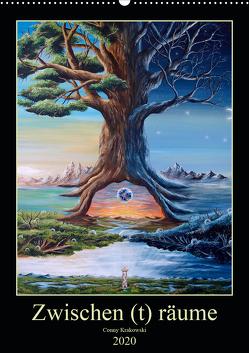 Zwischen (t) räume (Wandkalender 2020 DIN A2 hoch) von Krakowski,  Conny