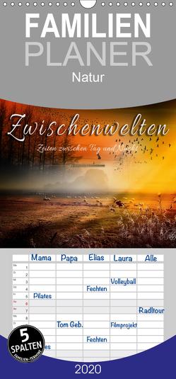 Zwischenwelten, Zeiten zwischen Tag und Nacht – Familienplaner hoch (Wandkalender 2020 , 21 cm x 45 cm, hoch) von Roder,  Peter