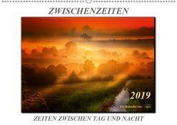 Zwischenzeiten – Zeiten zwischen Tag und Nacht (Wandkalender 2019 DIN A2 quer) von Roder,  Peter