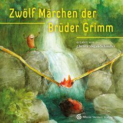 Zwölf Märchen der Brüder Grimm von Lesch,  Christiane, Slezak-Schindler,  Christa, Sponsel-Slezak,  Otto Ph