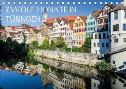Zwölf Monate in Tübingen (Tischkalender 2020 DIN A5 quer) von Caladoart