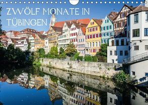Zwölf Monate in Tübingen (Wandkalender 2018 DIN A4 quer) von Caladoart