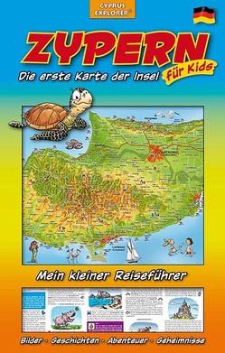 Zypern Die erste Karte der Insel für Kids, Landkarte und Reiseführer für Kinder von Christiane,  Sternberg
