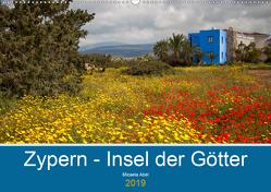 Zypern – Insel der Götter (Wandkalender 2019 DIN A2 quer) von Abel,  Micaela