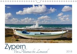 Zypern. Von Akamas bis Limassol (Wandkalender 2018 DIN A4 quer) von M. Laube,  Lucy