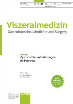 Zystische Raumforderungen im Pankreas von Brambs,  H J, Friess,  H.